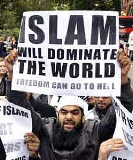 Risultati immagini per islam conquers world